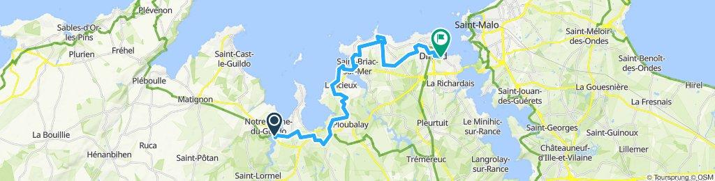 Gilles de Bretagne to Dinard Front