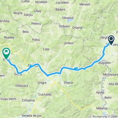 Biketour 2019. Day 1. Talisoara to Viscri