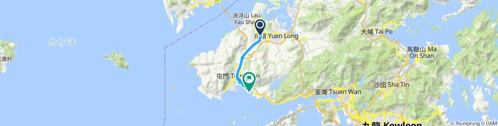Snail-like route in So Kwun Wat