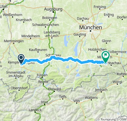 Kempten - Schliersee