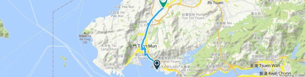 Slow ride in Hung Shui Kiu