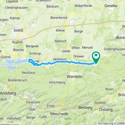 Möhnetal Route