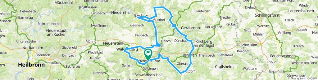Schwäbisch Hall - Langenburg - Waldenburg - S.H.