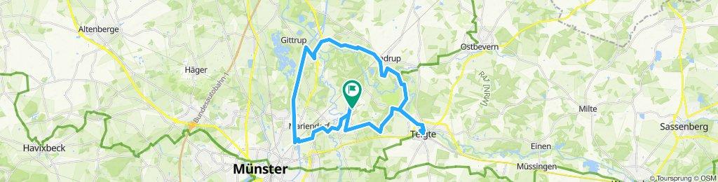 Rundtour über Mariendorf, Gittrup, Vadrup nach Telgte