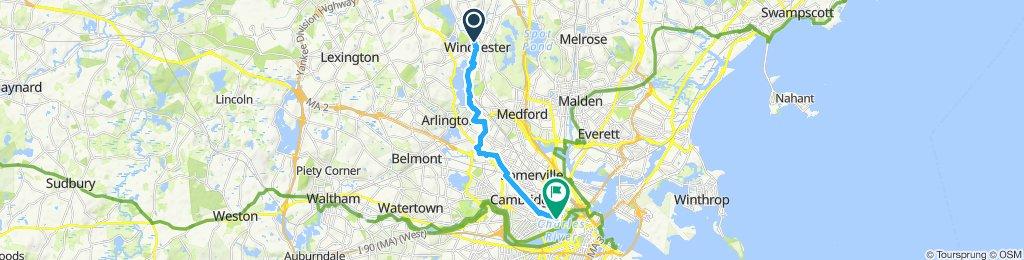Commute to Alnylam