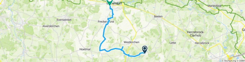 Warendorf nach Ostenfelde 31.05.2018