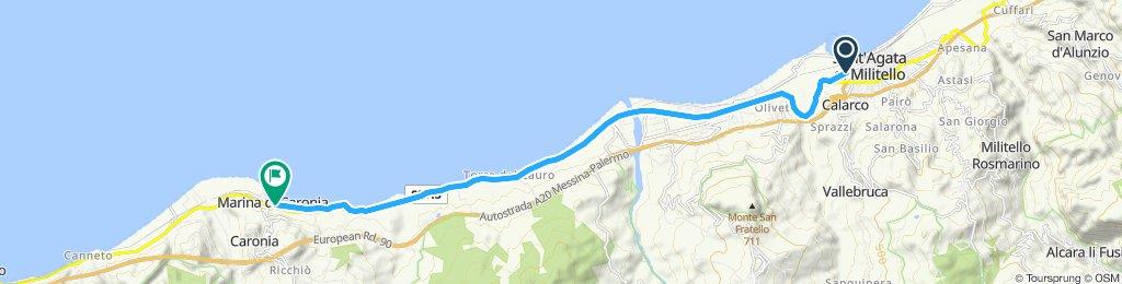 Sant'Agata di Militello - Marina di Caronia