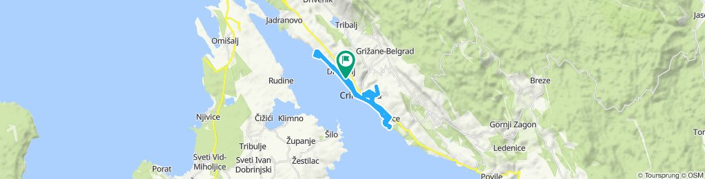 mit dem MTB in Crikvenica / Kroatien 09.06.2018