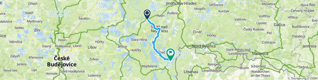 Stredná trasa Staňkov