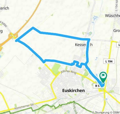 Gemütliche Route in Euskirchen
