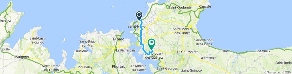 Le Sillon to Decathlon via Lidl