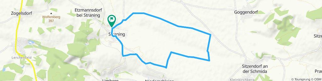 Gemütliche Route in Straning