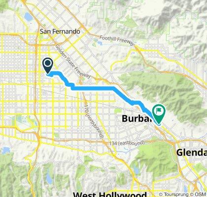 Slow ride in Burbank