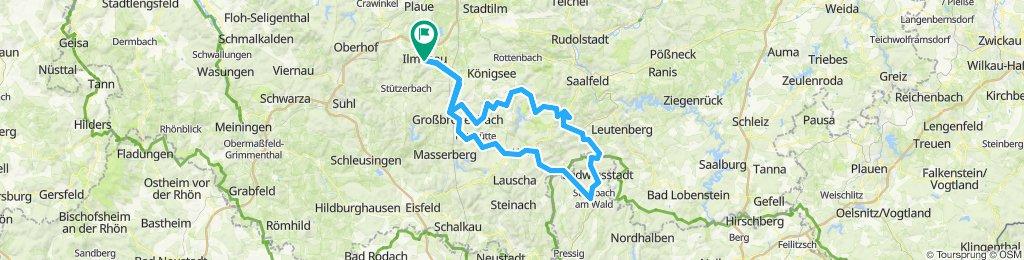 2019-08-04: Ilmenau - Steinbach am Wald