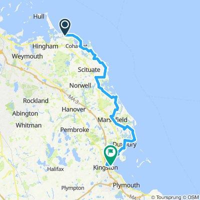 30mi Route to Kingston