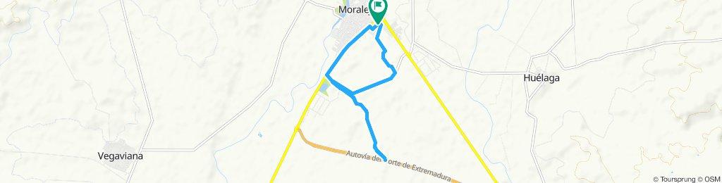primera ruta en bici