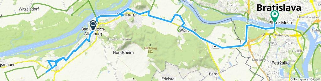 Bad Deutsch-Altenburg-Carnuntum-Bratislava