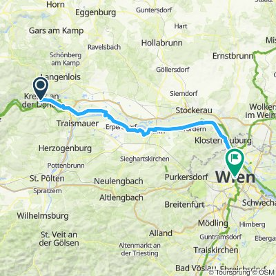 Pforzheim - Wien (8. Etappe)