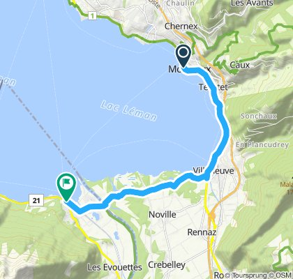 Tour Genfersee