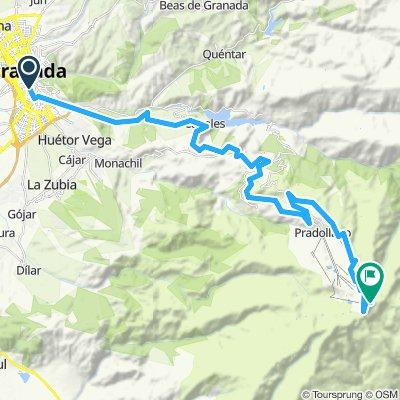 1) Pico de Veleta - 3400 m.