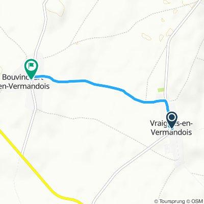Steady ride in Bouvincourt-en-Vermandois