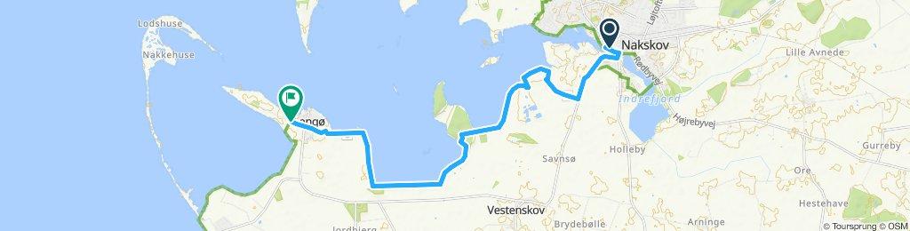 Moderate Route in Nakskov