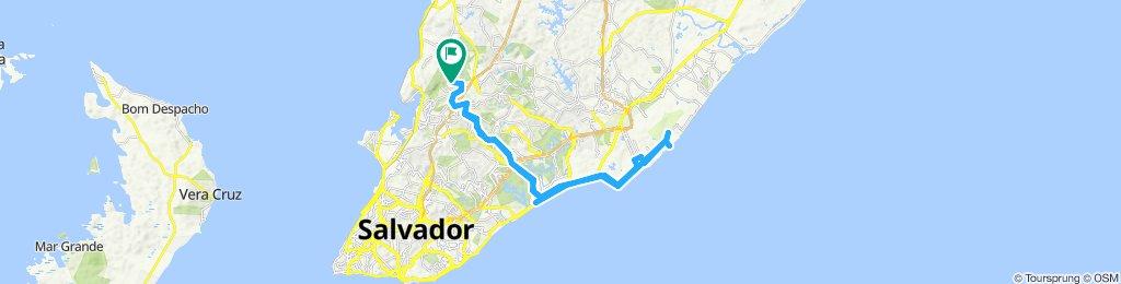 ida e volta Praia dos Flamengos