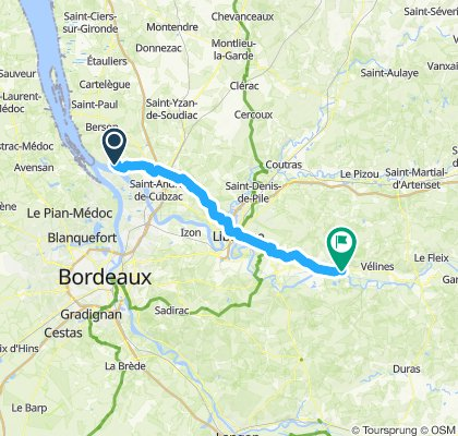 Bourgh bis Lamothe-Montravel
