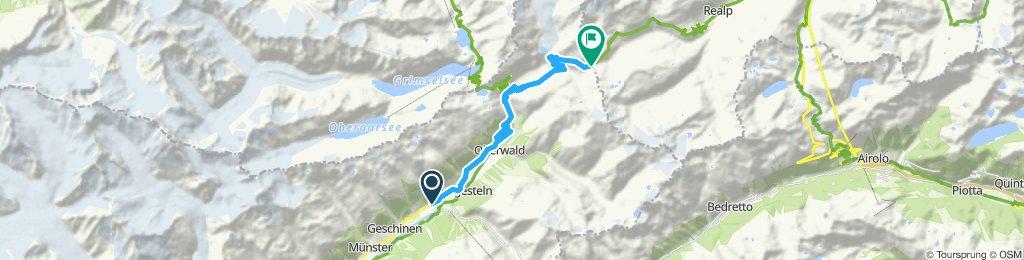 13) Furka Pass – 2429 m.