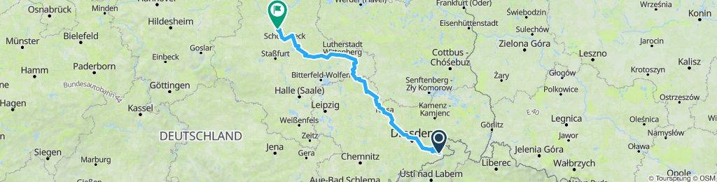 Bad Schandau - Magdeburg 3