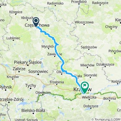 Częstochowa - Kraków