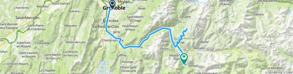 9) Alpe d'Huez - 1860 m. +Lac Besson 2080 m.