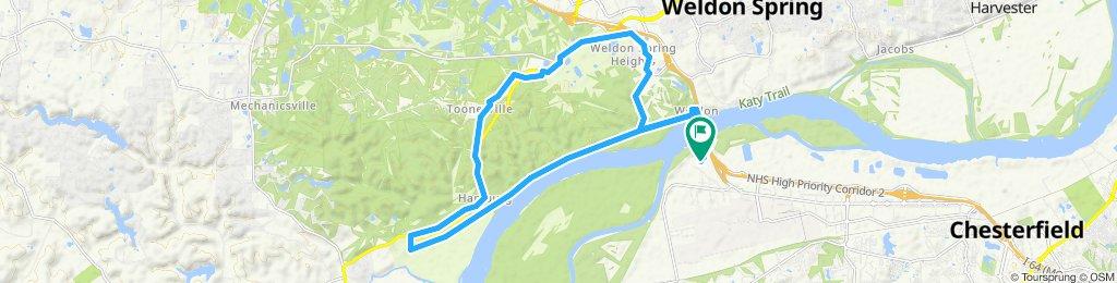 Hamburg trail
