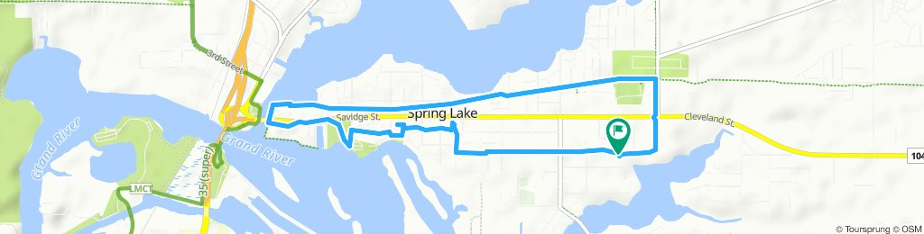 Slow ride in Spring Lake