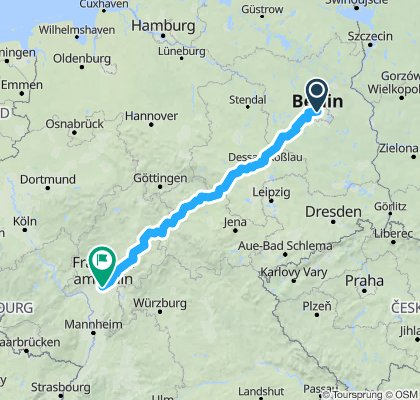 Berlin To Frankfurt - Part 1