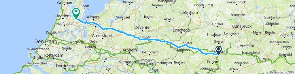 Munster to Amsterdam