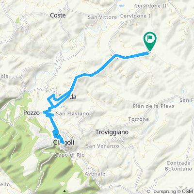 Easy ride in Cingoli