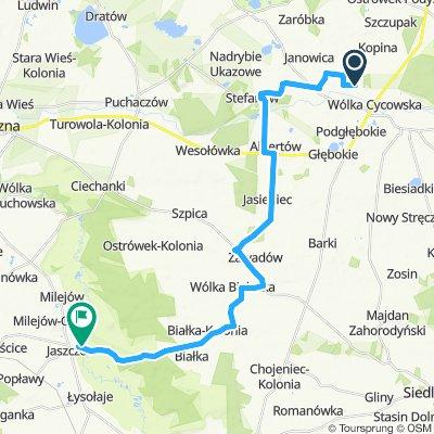 marynka-Jaszczów 26km