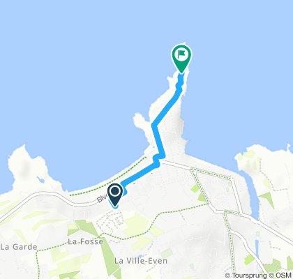 Gemütliche Route in Saint-Lunaire