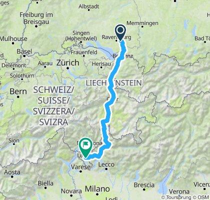 Waldburg - Lago di Como - Lugano