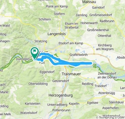 Gemütliche Route in Mautern an der Donau
