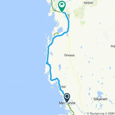 Easy ride in Lapväärtti