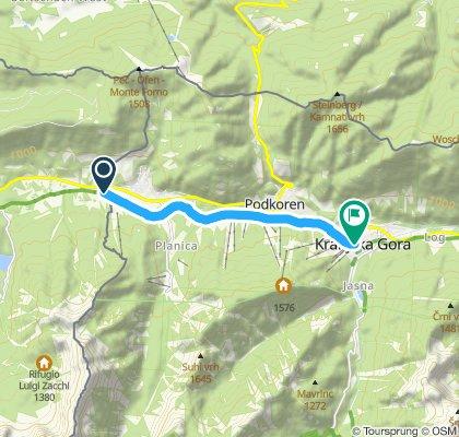Slow ride in Kranjska Gora