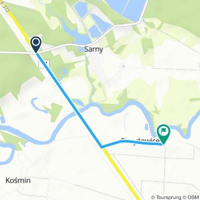 Szlak Sarny- Strzyżowice
