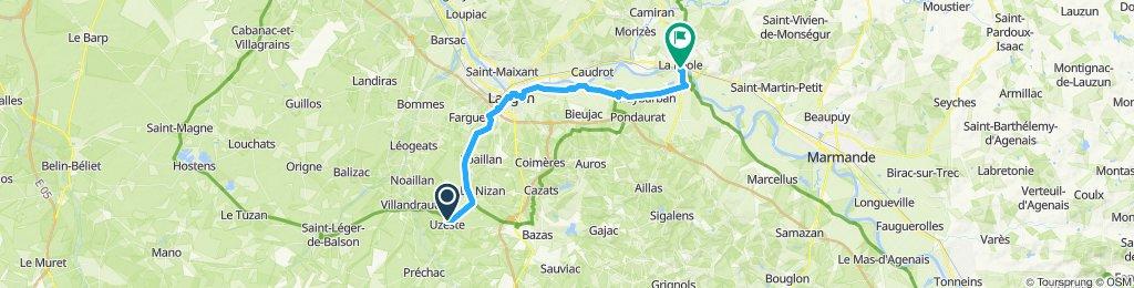 Uzeste - La Réole