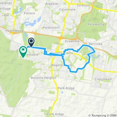 Forestdale to Berrinba Wetlands Circuit