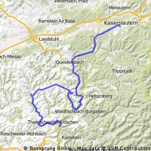 Straussen-Tour (Sonntag den 06.06.2010)