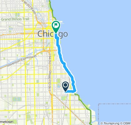 OG_TI Easy ride in Chicago morning workout 😎