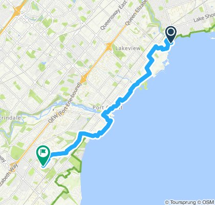 Easy ride in Mississauga