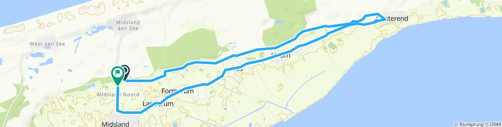 Moderate Route in Midsland